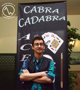 Posando concurso Cabracadabra 2018